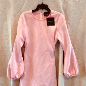 Cynthia Rowley Pink Suede Dress